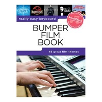 REALLY EASY KEYBOARD - Bumper Film Book *NEW* Sheet Music 45 Themes