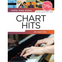 Really Easy - Chart Hits #6 Spring/Summer 2018 Piano Book *New* Sheet Music