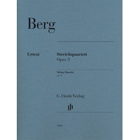 Berg - String Quartet Op 3 Parts