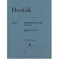 DVORAK - STRING QUARTET G MAJOR OP 106 PARTS