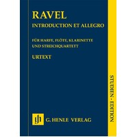 RAVEL - INTRODUCTION ET ALLEGRO HARP/FLU/CLA/STRING QUARTET