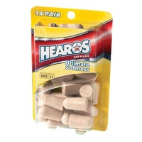 HEAROS Original Ear Plugs / Filters Foam 14 Pairs *NEW* Noise Reduction USA