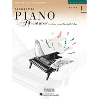 ACCELERATED PIANO ADVENTURES BK 1 LESSON INT ED