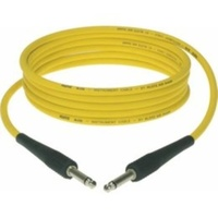 KLOTZ KIK 20 Foot Guitar Lead / Instrument Cable *NEW* YELLOW