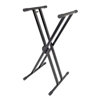 XTREME KS166 Double Braced X Style Keyboard Stand