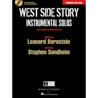 WEST SIDE STORY TROMBONE AND PIANO BK/CD INT-ADV