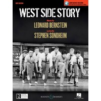 WEST SIDE STORY VOCAL SELECTIONS BK/CD
