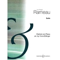 Rameau - Suite For Clarinet & Piano