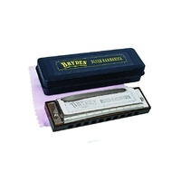 "Bryden Diatonic ""Blues"" Harmonica, Key of F *NEW* mouth organ, harp, 10 hole"