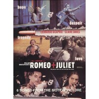 ROMEO + JULIET Motion Picture PVG Book *NEW* Piano Vocal Guitar Sheet Music
