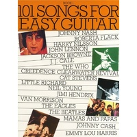 101 SONGS FOR EASY GUITAR BK 1