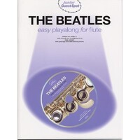 The Beatles - Junior Guest Spot Easy Flute Play-Along Book & Cd *New* 15 Songs