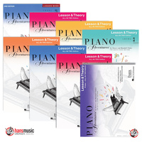 Piano Adventures All in Two Series - Lesson & Theory