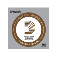 5 X D'Addario PB054 Single Phosphor Bronze Strings