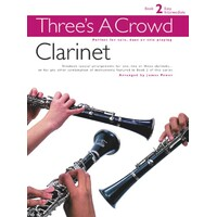 THREES A CROWD BK 2 CLARINET TRIO