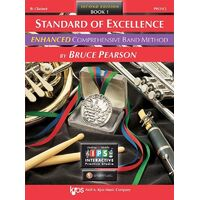 Standard Of Excellence Clarinet Book 1 Enhanced 2Cd *New* Sheet Music, Pearson