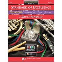 Standard Of Excellence Flute Bk 1 Enhanced 2Cd *New*