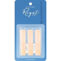 3 x RICO ROYAL Bb Clarinet Reeds 2.5 strength *NEW* 3 pack, Reed FREE SHIPPING