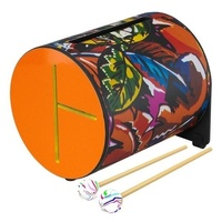 REMO RL-0708-09-08 Rhythm Log Drum with Rubber Mallets