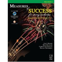 Measures Of Success Viola Bk 2 Bk/Dvd