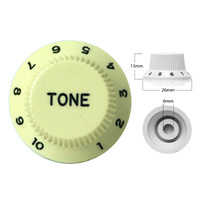Strat Style Control Tone Knob For Electric Guitar  Japanese Mint Green