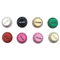 Electric Guitar Stratocaster Style Control Knobs - 2 x Volume knobs, Japanese