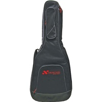 Electric Bass Guitar Bag Black Heavy Duty Nylon Waterproof Steel String