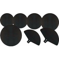 DXP TDK066 Rubber Rock Drum Mute Pad Set for Drums and Cymbals
