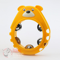 Bear Tambourine Headless