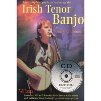 The Complete Guide to Learning the Irish Tenor Banjo Book & CD *NEW* Music