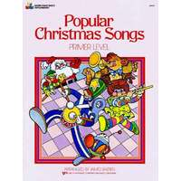 Bastien - Popular Christmas Songs Primer Level Book *New* Piano Sheet Music Xmas