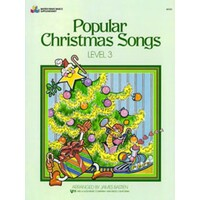 Bastien - Popular Christmas Songs Level 3 Book *New* Piano Sheet Music Xmas