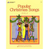 Bastien - Popular Christmas Songs Level 4 Book *New* Piano Sheet Music Xmas