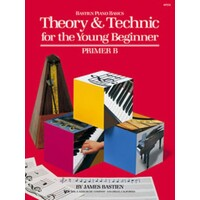 Bastien Piano Basics, Theory & Technic For The Young Beginner, Primer B Book