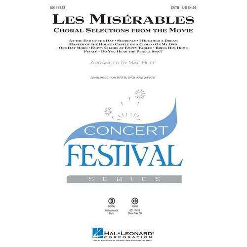 LES MISERABLES SHTX CD