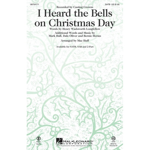I HEARD THE BELLS ON CHRISTMAS DAY SSA