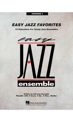 Easy Jazz Favorites Trombone 2