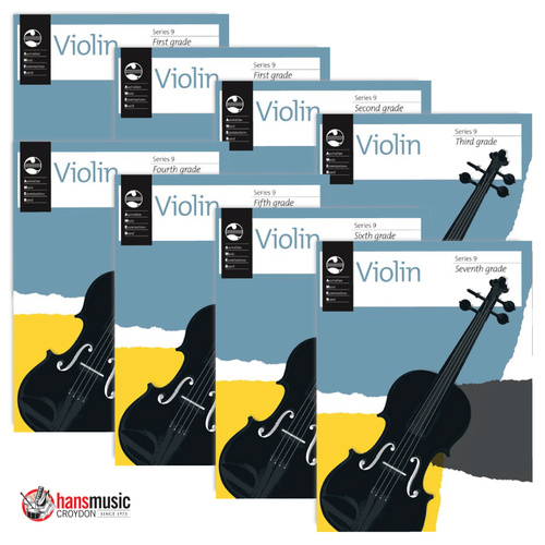 Ameb Violin Recording Handbook With Cd