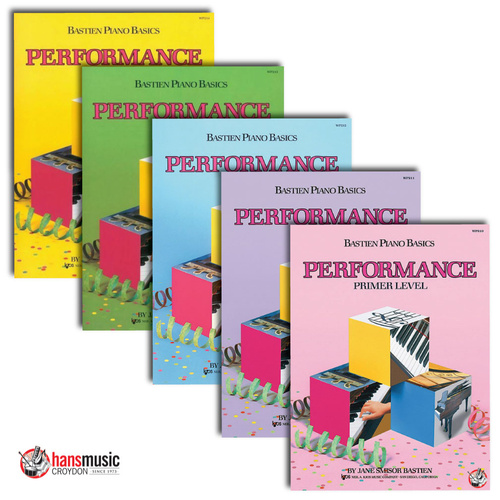 Bastien Piano Basics - Performance Book