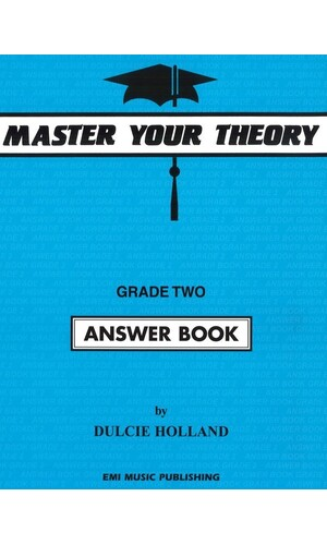 Master Your Theory Answer Bk 2