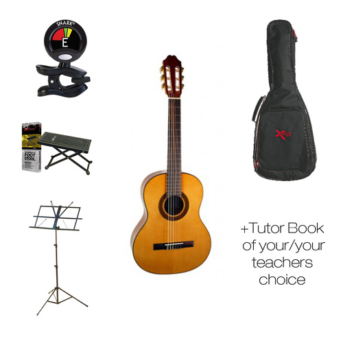 School Katoh Classical Guitar Pack